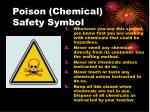 poison chemical safety symbol