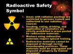 radioactive safety symbol