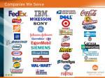 companies we serve