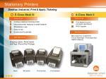 stationary printers
