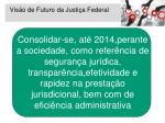 vis o de futuro da justi a federal