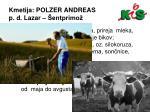 kmetija polzer andreas p d lazar entprimo