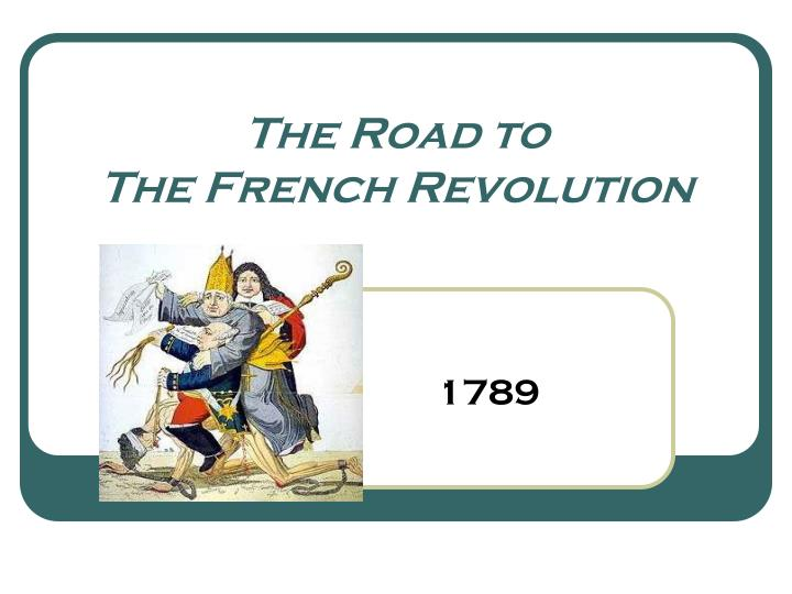 the road to the french revolution n.