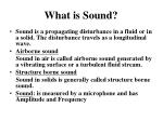 what is sound