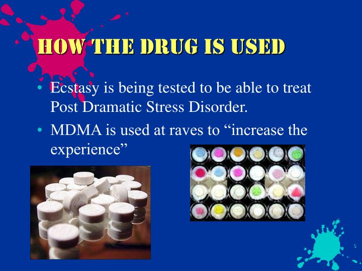 How The drug is used