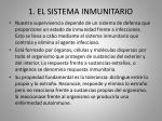 1 el sistema inmunitario