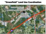 greenfield land use coordination