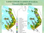 land cover classes ii level in vilsandi 1986 and 1998