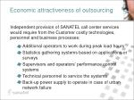 economic attractiveness of outsourcing5