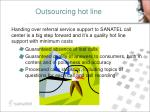 outsourcing hot line