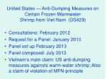 united states anti dumping measures on certain frozen warmwater shrimp from viet nam ds429