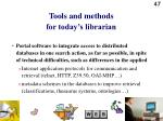 tools and methods for today s librarian3