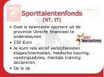 sporttalentenfonds nt it