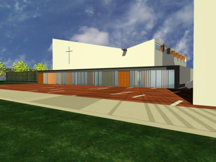 Bouwcommissie benedictus en bernadettekerk te rijswijk