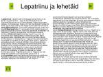 lepatriinu ja lehet id