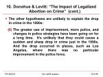 10 donohue levitt the impact of legalized abortion on crime cont2