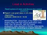 lead in activities1