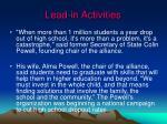 lead in activities3