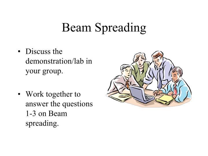 Beam Spreading