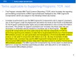 terms applicable to supporting programs tcr next