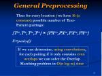 general preprocessing4