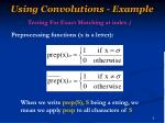 using convolutions example1