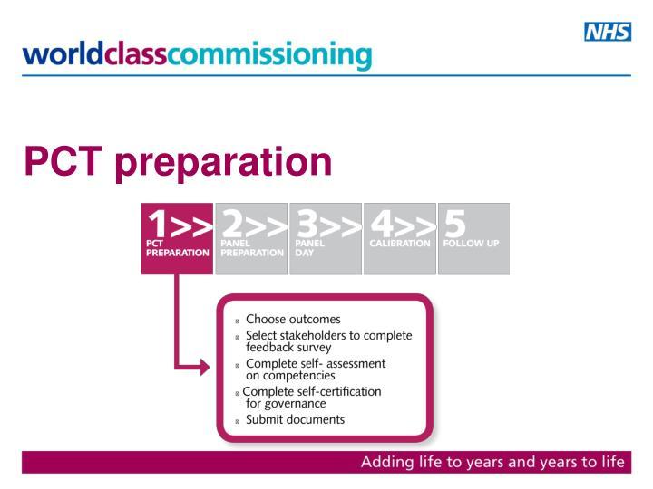 PCT preparation