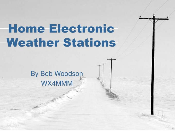 home electronic weather stations n.