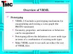 overview of vrml6