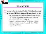 what is vrml