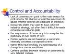 control and accountability1