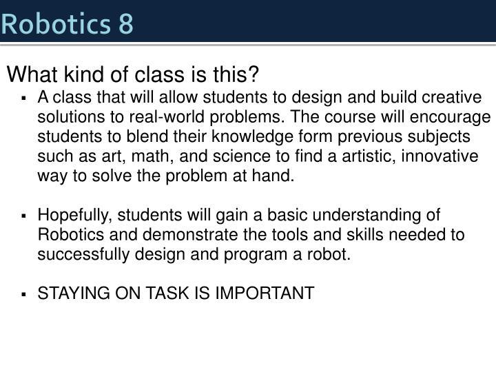 Robotics 8
