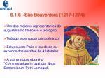 6 1 6 s o boaventura 1217 1274
