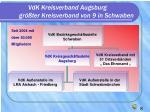 vdk kreisverband augsburg gr ter kreisverband von 9 in schwaben