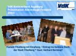 vdk kreisverband augsburg pr sentation aktionstage festakte 2003