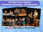 vdk kreisverband augsburg pr sentation aktionstage schwabm nchen