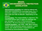 brazil en environmental protection legislation