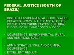 federal justice south of brazil
