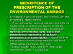inexistence of prescription of the environmental damage