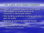 air light and noise pollution2