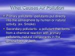 what causes air pollution1