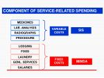 component of service related spending