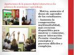 aportaciones de la pizarra digital interactiva a los procesos de ense anza y aprendizaje1