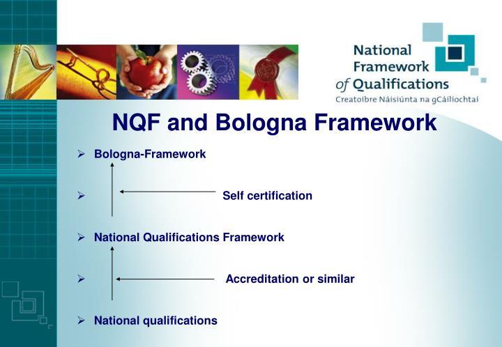NQF and Bologna Framework