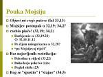 pouka mojsiju