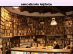 samostanska knji nica
