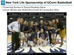 new york life sponsorship of uconn basketball1