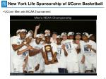 new york life sponsorship of uconn basketball2