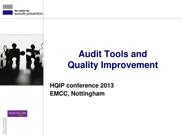 audit tools and quality improvement n.