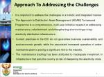 approach to addressing the challenges
